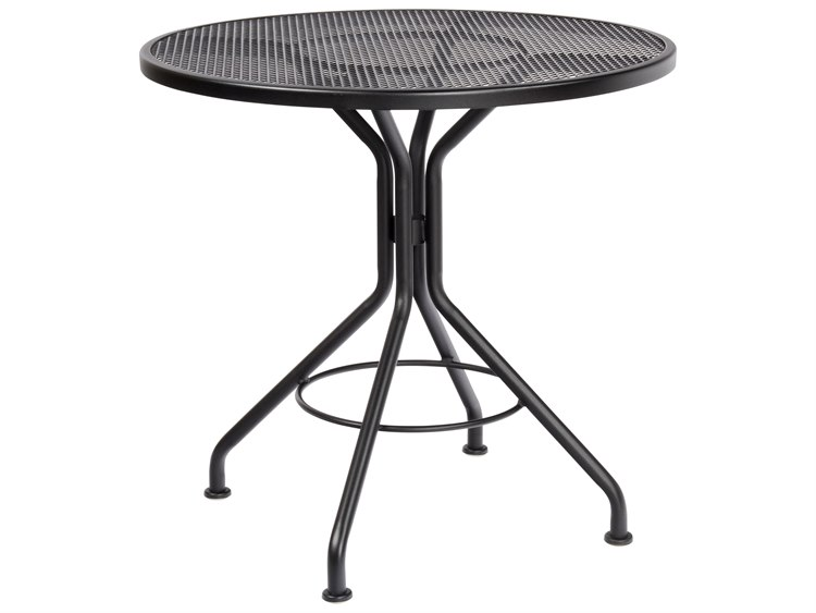 Woodard Wrought Iron 30 Round Bistro Table PatioLiving