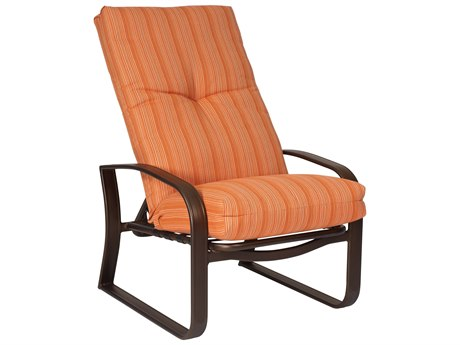 Woodard Cayman Isle Cushion Aluminum Lounge Chair