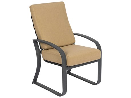 Woodard Cayman Isle Cushion Aluminum Dining Chair