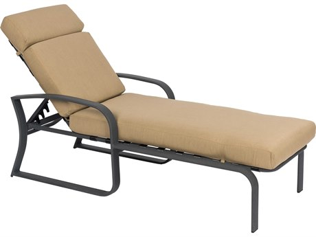 Woodard Cayman Isle Cushion Aluminum Chaise Lounge