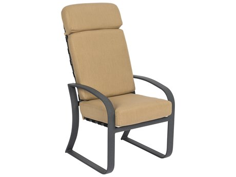 Woodard Cayman Isle High Back Dining Chair /High Back Swivel Rocker Replacement Cushions