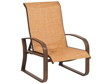 Woodard Cayman Isle Sling Aluminum Lounge Chair