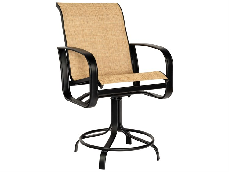 Strange Woodard Cayman Isle Sling Aluminum Counter Stool Caraccident5 Cool Chair Designs And Ideas Caraccident5Info