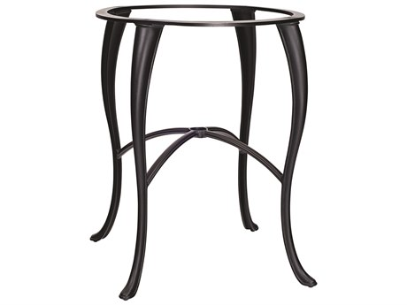 Woodard Cabriole Aluminum Bar Height Table Base