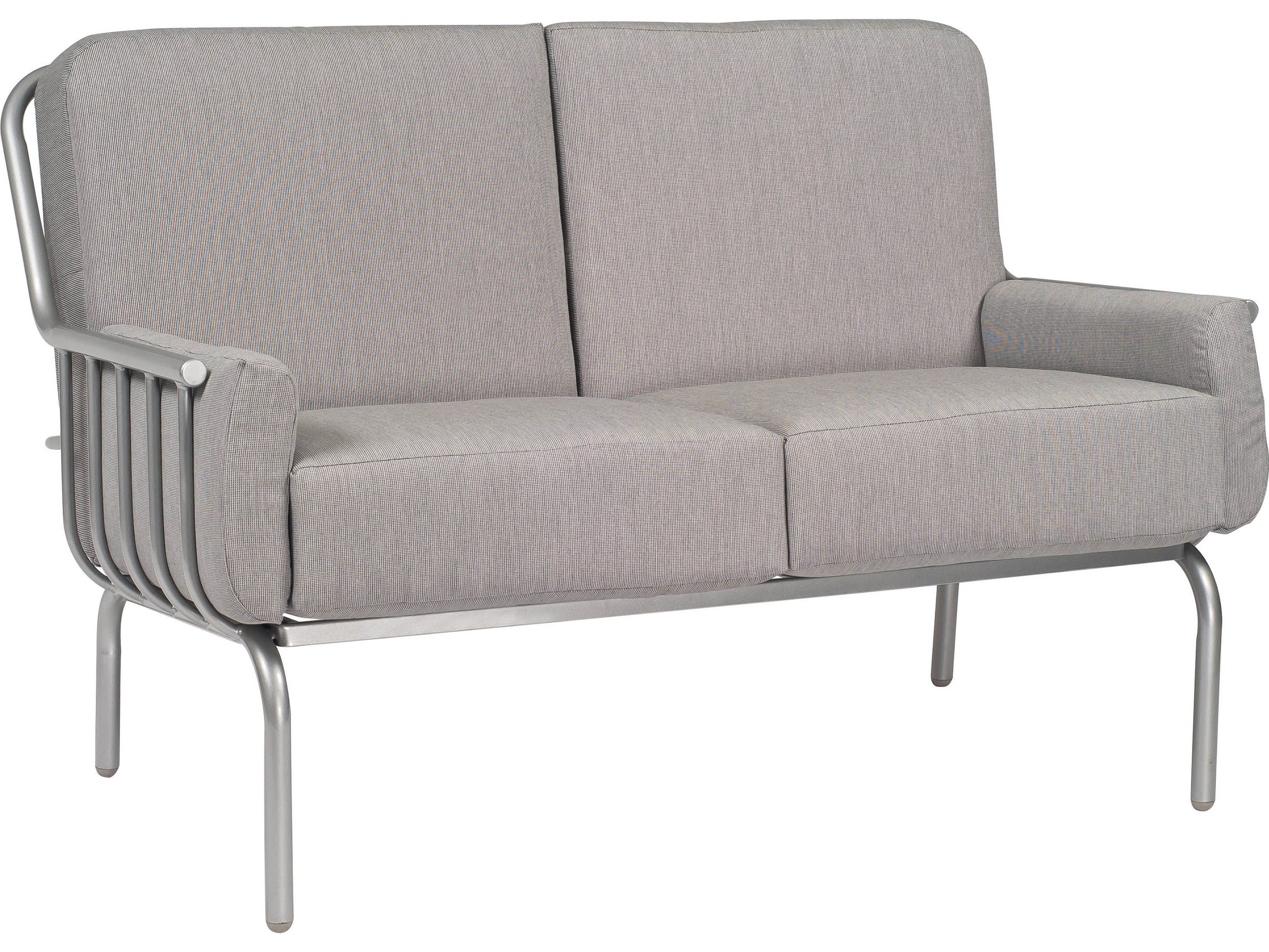 Woodard Uptown Loveseat Replacement Cushions 2h0019ch