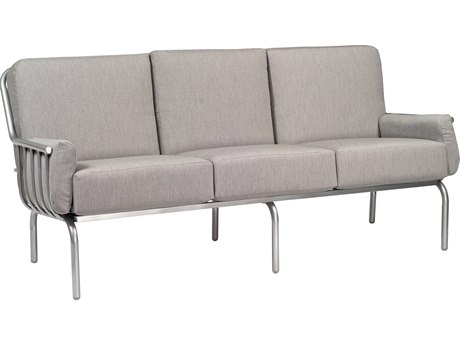 Woodard Uptown Wrought Iron Sofa