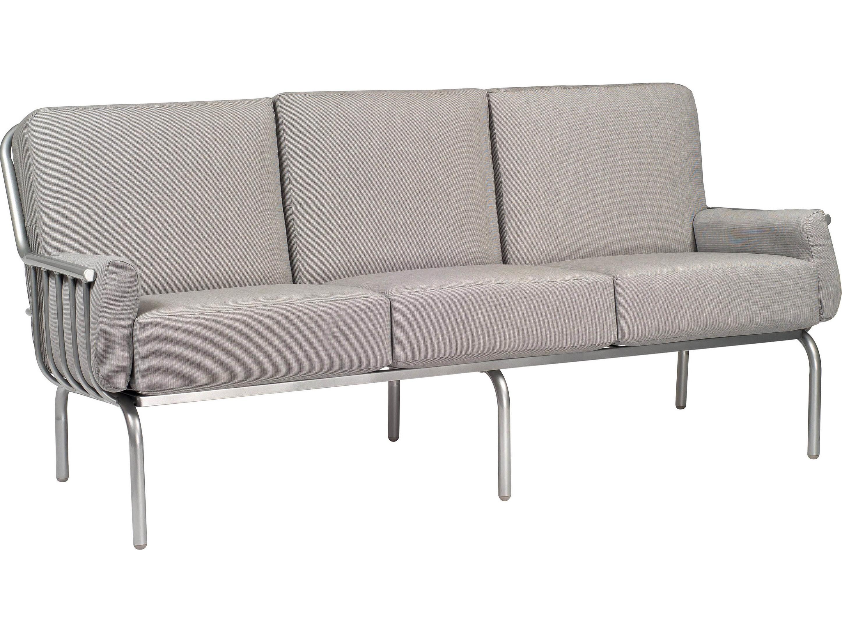 Woodard Uptown Wrought Iron Sofa 2h0020