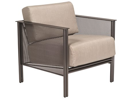 Woodard Jax Wrought Iron Lounge Chair PatioLiving