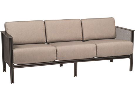 Woodard Jax Wrought Iron Sofa WR2J0020