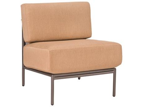Woodard Jax Wrought Iron Modular Lounge Chair