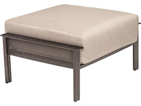 Woodard Jax Wrought Iron Ottoman
