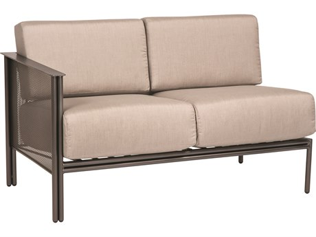 Woodard Jax Wrought Iron LAF Sectional Loveseat WR2J0095
