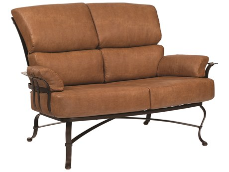 Woodard Atlas Wrought Iron Loveseat