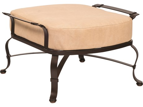 Woodard Atlas Wrought Iron Ottoman