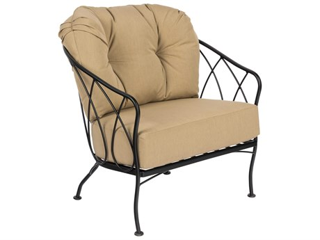 Woodard Delaney Wrought Iron Lounge Chair