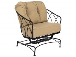 Woodard Delaney Wrought Iron Spring Lounge Chair