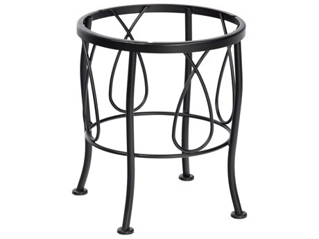 Woodard Delaney Wrought Iron End Table Base