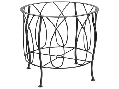 Woodard Delaney Wrought Iron Dining Table Base