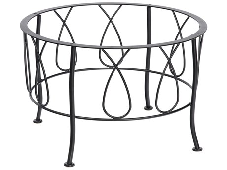 Woodard Delaney Wrought Iron Coffee Table Base