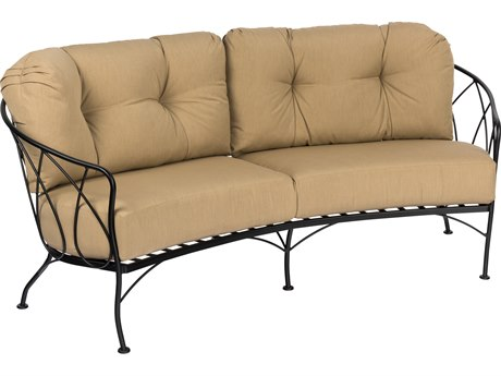 Woodard Delaney Crescent Loveseat Replacement Cushions