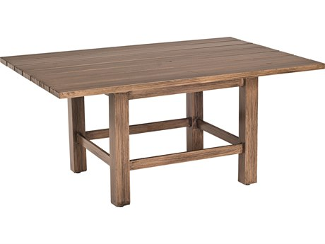 Woodard Woodlands Aluminum 48 x 36 Rectangular Coffee Table