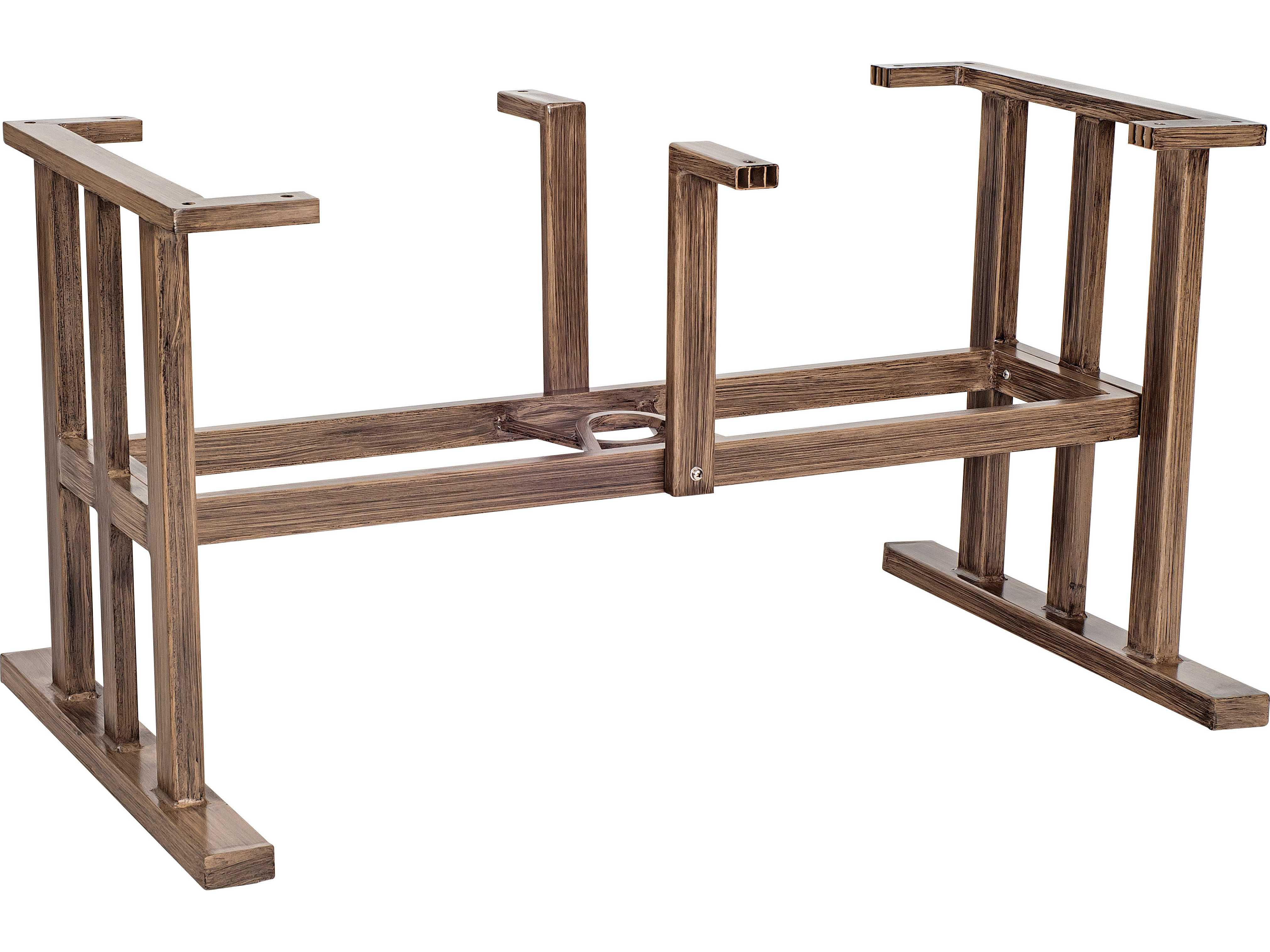 Woodard Trestle Large Aluminum Dining Table Base 2Q8400 : WR2Q8400zm from www.patioliving.com size 4043 x 3033 jpeg 589kB