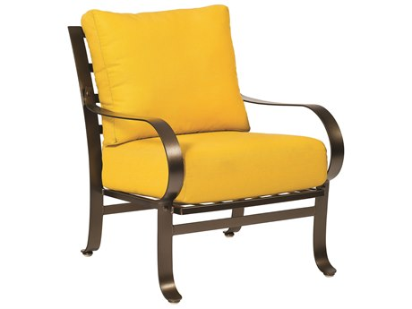 Woodard Cascade Wrought Iron Lounge Chair