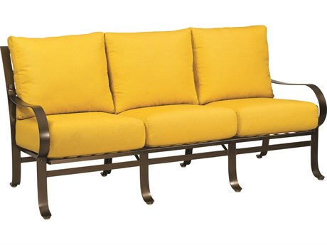 Woodard Cascade Wrought Iron Sofa WR2W0020
