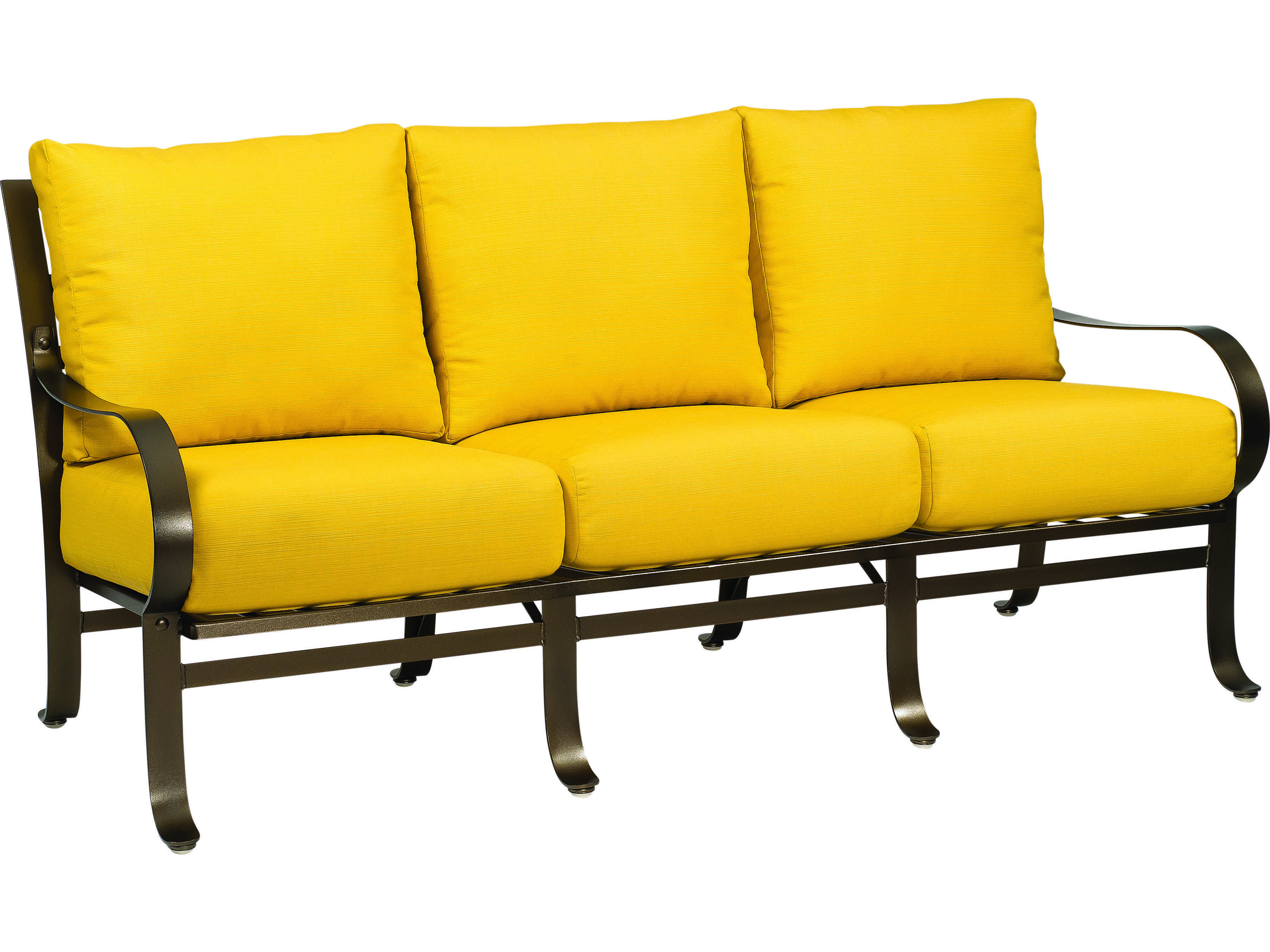 Woodard Cascade Wrought Iron Sofa 2w0020