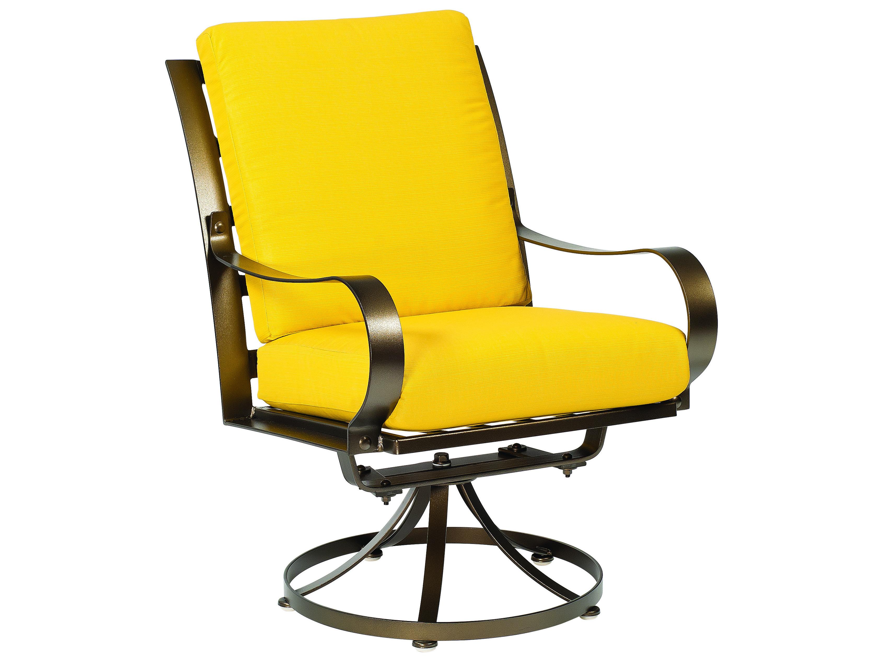 Woodard Cascade Swivel Dining Chair Replacement Cushions ...