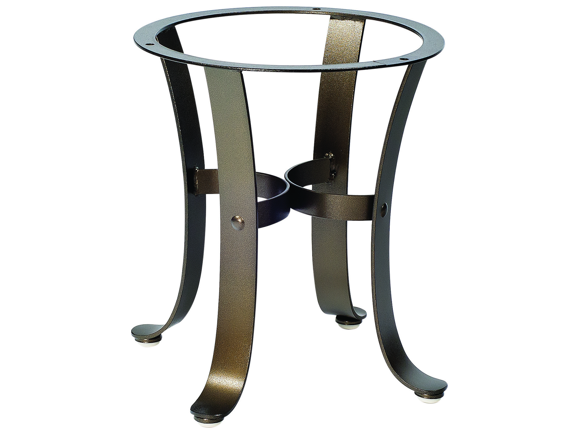 Woodard Cascade Wrought Iron End Table Base Wr2w3900