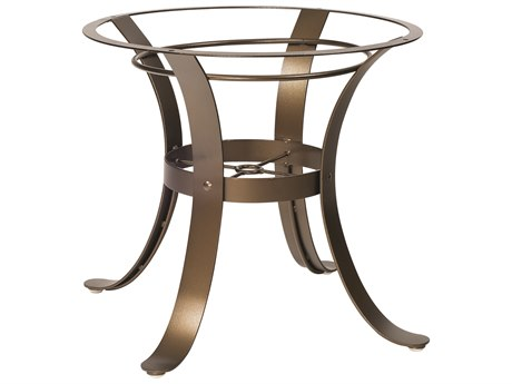 Woodard Cascade Wrought Iron Dining Table Base WR2W4800