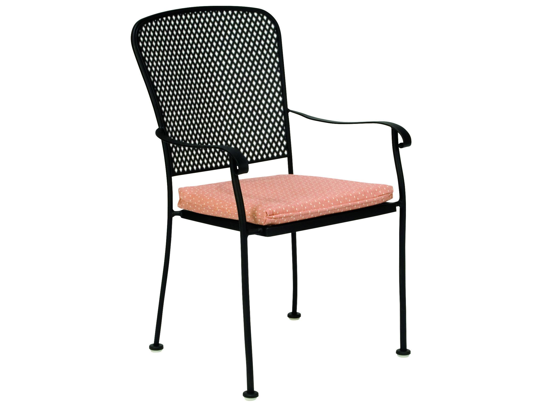 Woodard Fullerton Wrought Iron Dining Chair