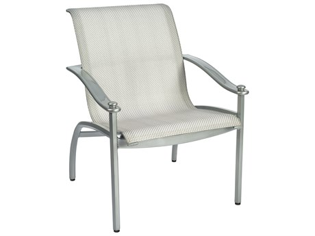 Woodard Nob Hill Sling Aluminum Dining Chair