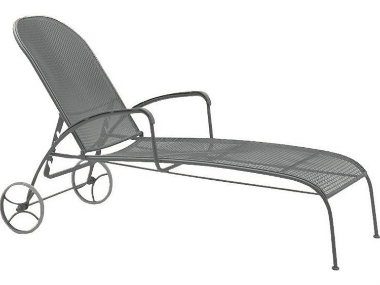 Woodard Valencia Wrought Iron Chaise Lounge