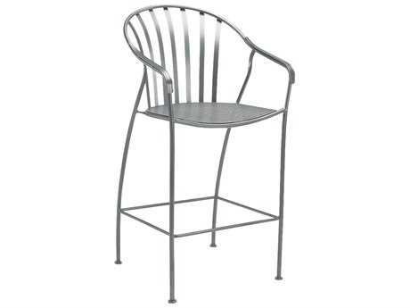 Woodard Valencia Wrought Iron Stackable Barrel Dining