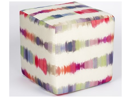 Woodard Throw Pillows 21'' Wide Reticulated Cube