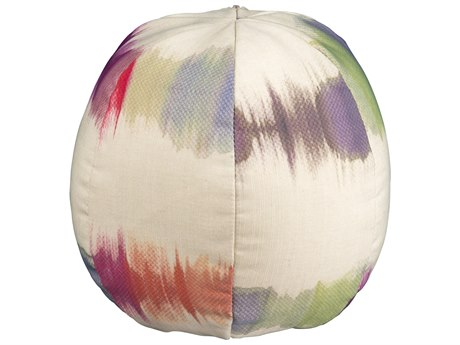 Woodard Small Beach Ball Throw Pillow