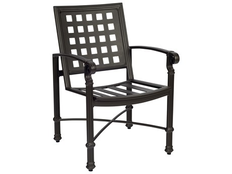 Woodard Spartan Cast Aluminum Dining Chair