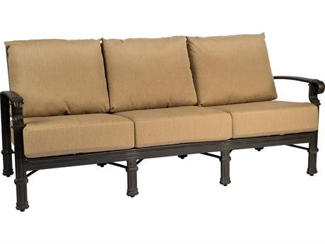 Woodard Spartan Cast Aluminum Sofa