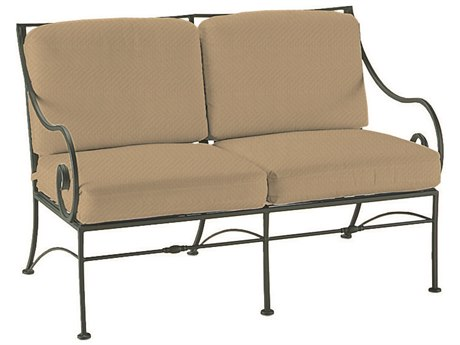 Woodard Sheffield Wrought Iron Loveseat