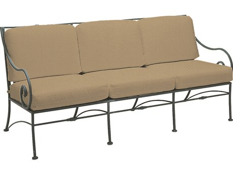 Woodard Sheffield Wrought Iron Sofa WR3C0020