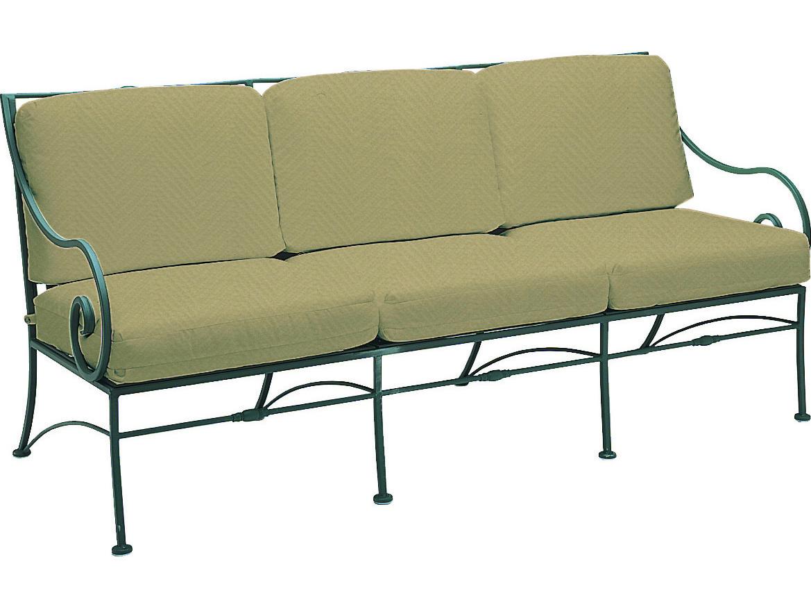 Woodard Sheffield Wrought Iron Sofa