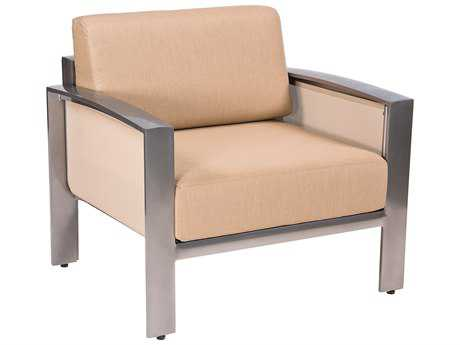 Woodard Metropolis Aluminum Lounge Chair