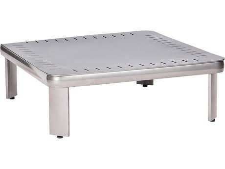Woodard Metropolis Aluminum Sectional 32.25 Square Table