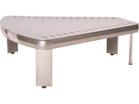 Woodard Metropolis Aluminum  36.5''W x 34.5''D Sectional Wedge Table