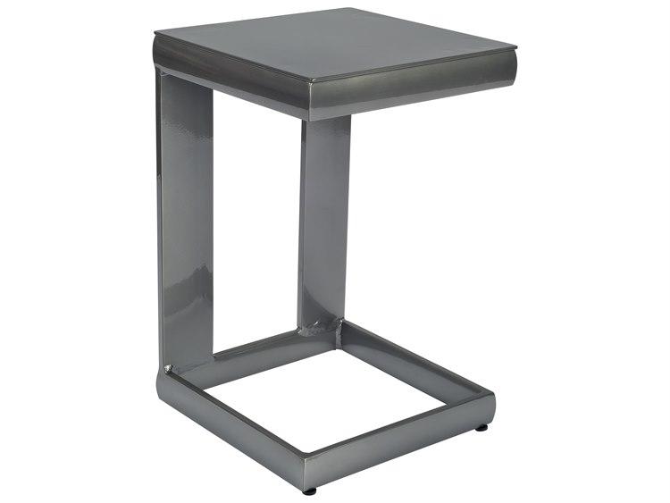 Woodard Metropolis Aluminum Universal 14 Square C Table PatioLiving