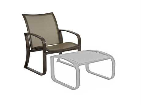 Woodard Cayman Isle Flex Aluminum Lounge Chair