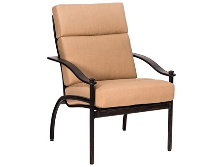 Woodard Nob Hill Aluminum Dining Chair