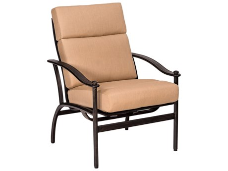 Woodard Nob Hill Aluminum Internal Gliding Dining Chair